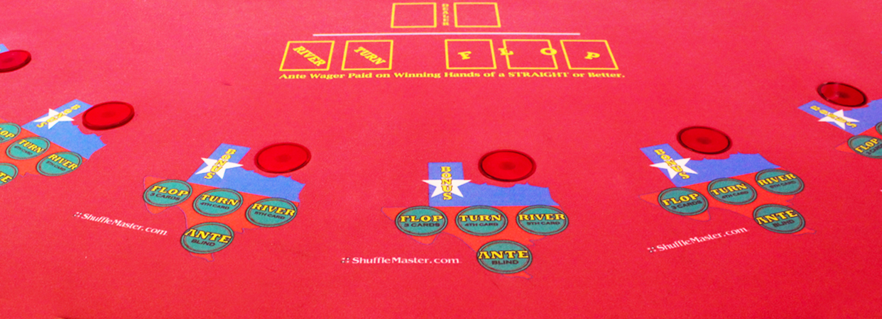 Texas Hold'em Bonus Progressive Poker in Clark Freeport Zone, Pampanga, Philippines