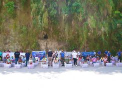 Aeta Community in Pampanga together with Widus Foundation Team
