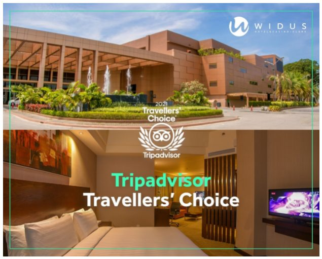 Travelers choice award Clark Hotel