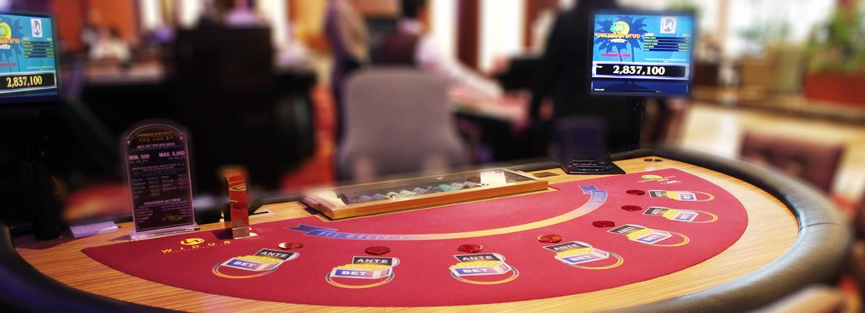 Caribbean Stud Poker Casino Clark - Widus Hotel and Casino