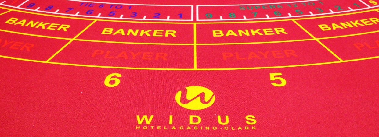 Baccarat Super 6 in Clark, Pampanga, Philippines - Widus Hotel and Casino