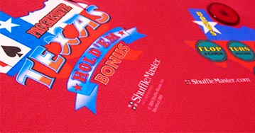 Texas Hold'em Bonus Progressive Poker in Clark Freeport Zone, Pampanga, Philippines