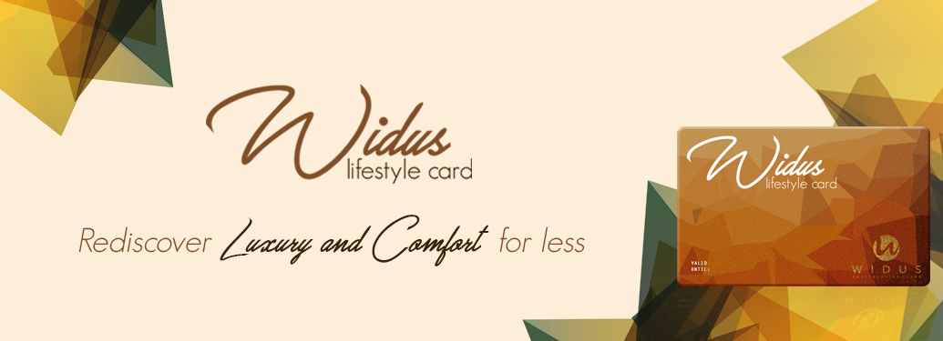 New Widus Lifestyle Privilege Card