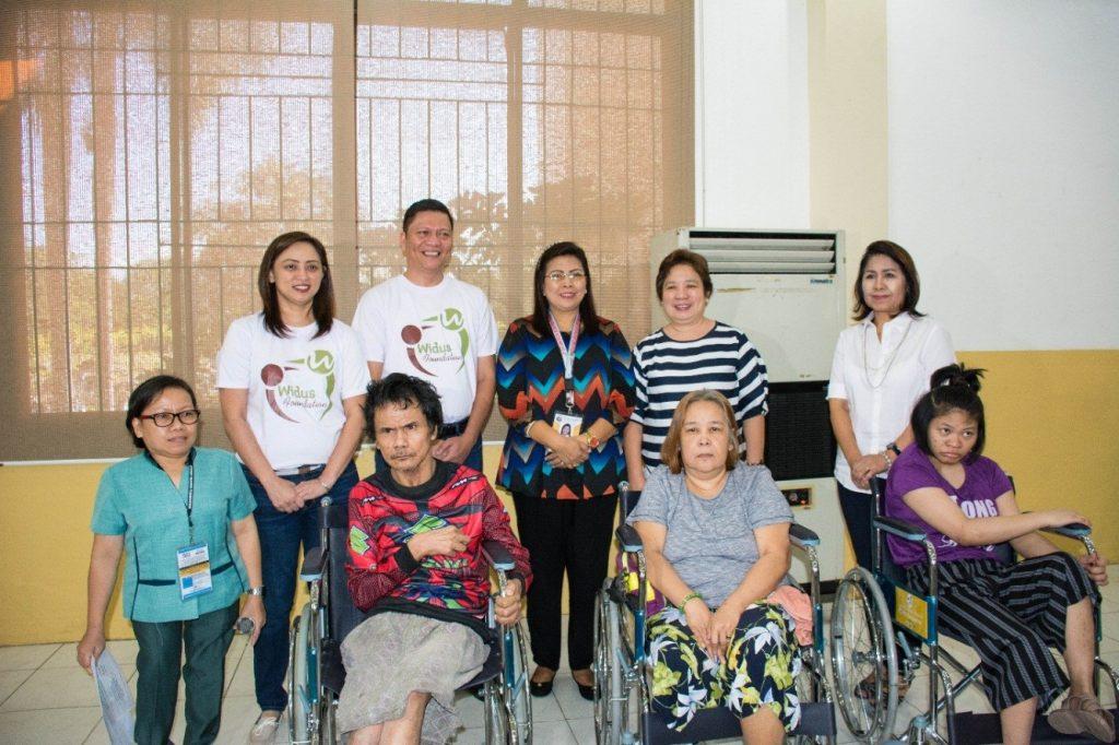 WIDUS FOUNDATION DONATES WHEELCHAIRS TO PSWDO